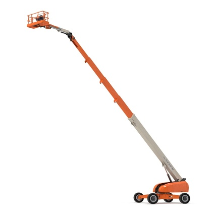 Telescopic Boom Lift Generic 4 Pose 2. Render 17