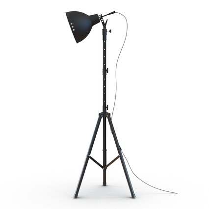 Photo Studio Lamps Collection. Render 31