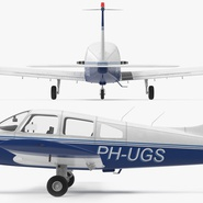 Piper PA-28-161 Cherokee Rigged. Preview 14