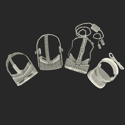 Virtual Reality Goggles Collection. Render 95
