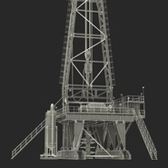 Fracking Gas Platform. Preview 49