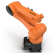 Kuka Robot KR 10 R1100 Rigged. Preview 17
