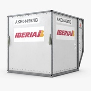 Airport Container Iberia Cargo. Preview 6