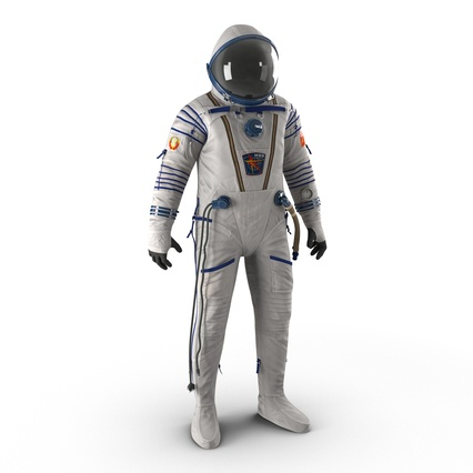 Russian Space Suit Sokol KV2 Rigged. Render 2