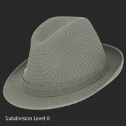 Fedora Hat Blue. Preview 20