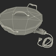 Round Electric Skillet. Preview 4