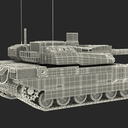 French Army Tank AMX-56 Leclerc Rigged. Preview 31