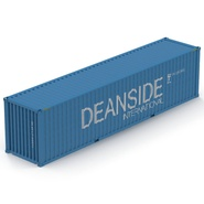 40 ft High Cube Container Blue 2. Preview 15
