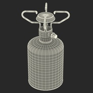 Gas Cylinder with Camping Stove. Preview 4