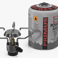 Gas Cylinder with Camping Stove. Preview 7