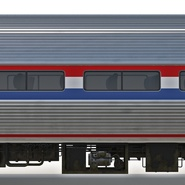 Railroad Amtrak Passenger Car 2. Preview 33