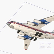 Ilyushin Il-76 Emergency Russian Air Force Rigged. Preview 5