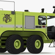 Oshkosh Striker 4500 Aircraft Rescue and Firefighting Vehicle Rigged. Preview 21