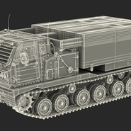 US Multiple Rocket Launcher M270 MLRS Camo. Preview 4