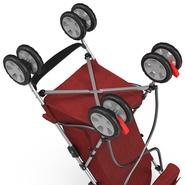Baby Stroller Red. Preview 37