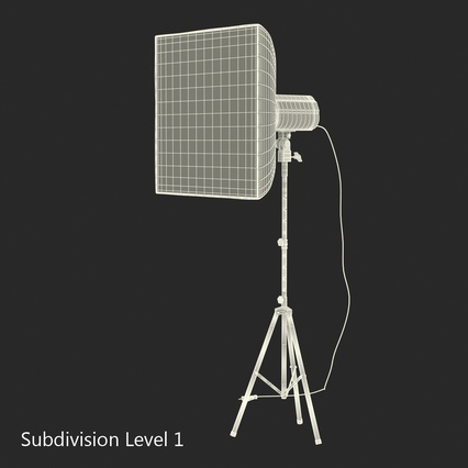 Photo Studio Lamps Collection. Render 68