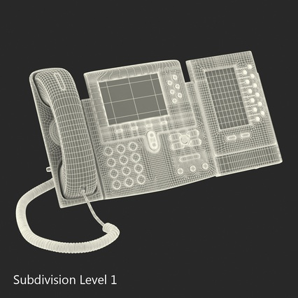 Cisco IP Phones Collection 6. Render 36