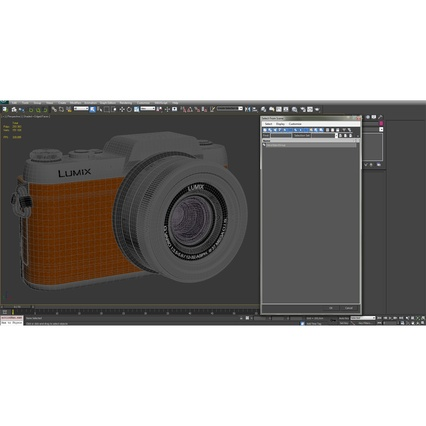 Panasonic DMC GF7 Brown. Render 47