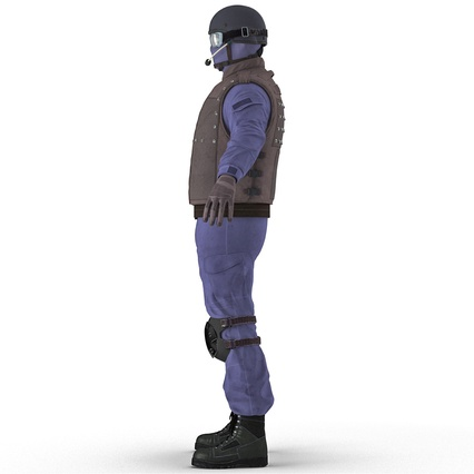 SWAT Uniform. Render 11