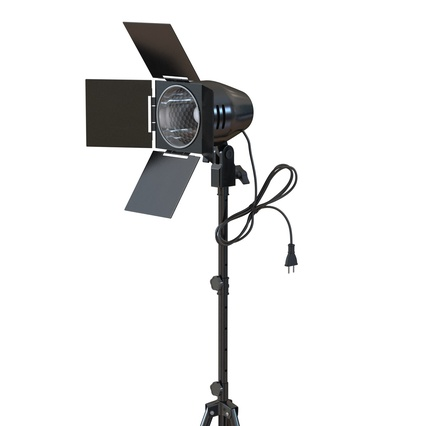 Photo Studio Lamps Collection. Render 24