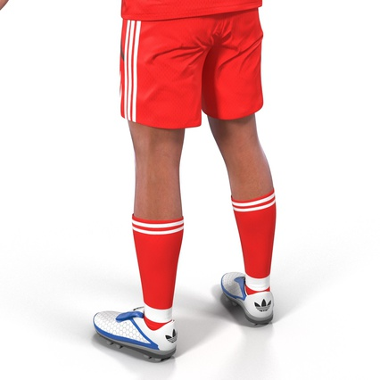 Soccer Player Rigged for Maya. Render 26