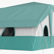 Deluxe Cabin Tent. Preview 9