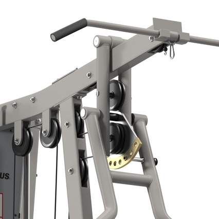 Weight Machine 2. Render 26