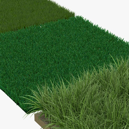 Grass Fields Collection 2. Render 7