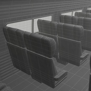 Railroad Amtrak Passenger Car 2. Preview 73