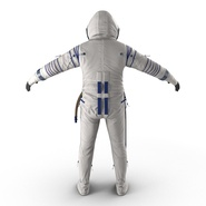 Russian Space Suit Sokol KV2 Rigged. Preview 13