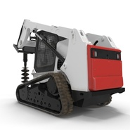 Compact Tracked Loader with Auger. Preview 14