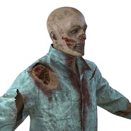 Zombie Rigged for Cinema 4D. Preview 26