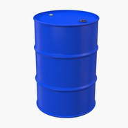 Oil Drum 200l Blue. Preview 3