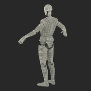 Male Crash Test Dummy Rigged for Cinema 4D. Preview 45