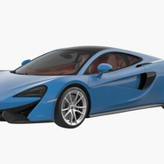 Supercar McLaren 570GT 2017. Preview 3