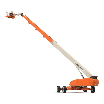 Telescopic Boom Lift Generic 4 Pose 2. Render 19