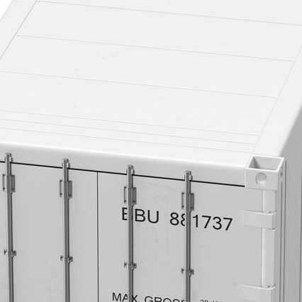 ISO Refrigerated Container. Render 23