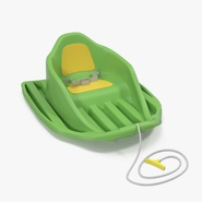 Baby Sled Green