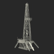 Fracking Gas Platform. Preview 4