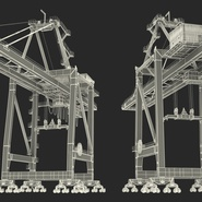 Container Crane Blue. Preview 40