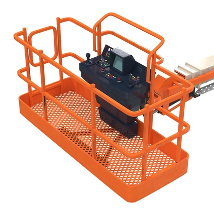 Telescopic Boom Lift Generic 4 Pose 2. Render 54