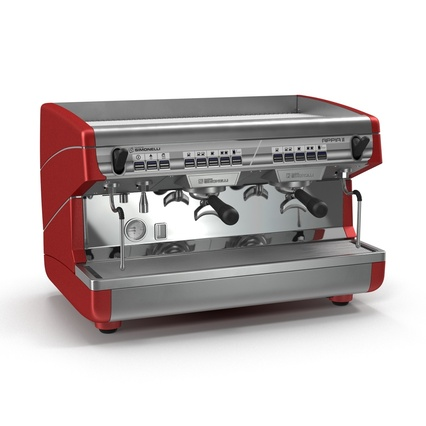 Espresso Machine Simonelli. Render 3