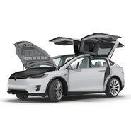 Tesla Model X Rigged. Preview 27