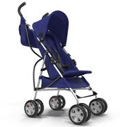 Baby Stroller Blue. Preview 5