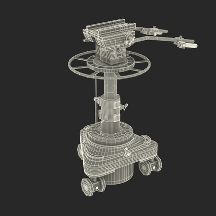 TV Studio Camera Pedestal 2. Render 4