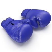 Boxing Gloves Blue. Preview 2