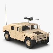 High Mobility Multipurpose Wheeled Vehicle Humvee Desert