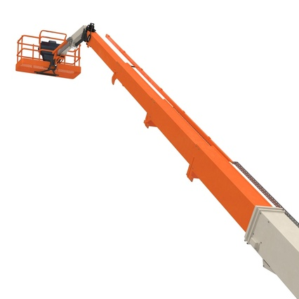 Telescopic Boom Lift Generic 4 Pose 2. Render 34