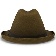 Fedora Hat Brown. Preview 8