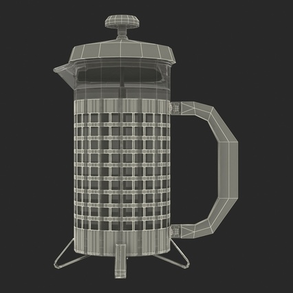 French Press. Render 40